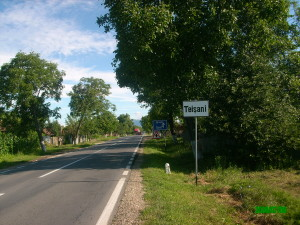 Intrarea in localitate
